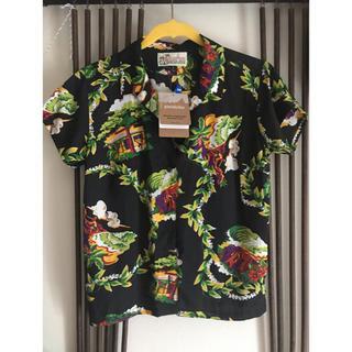 パタゴニア(patagonia)のハレイワ 25周年 パタロハ 黒 パタゴニア アロハ レディース(Tシャツ(半袖/袖なし))
