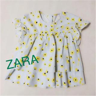 ザラ(ZARA)の花柄ブラウス(シャツ/ブラウス(半袖/袖なし))