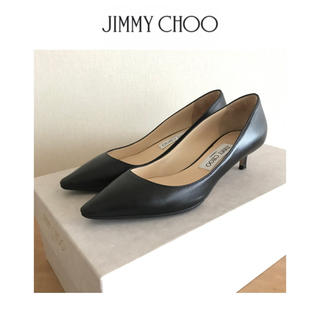 JIMMY CHOO - JIMMY CHOO ジミーチュウ ★  パンプス  黒 サイズ36.5
