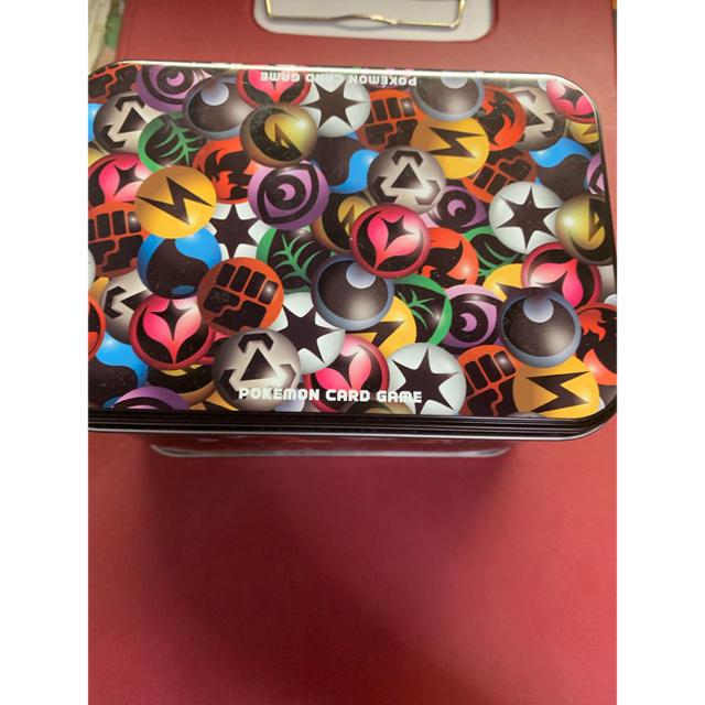 ポケモン(ポケモン)のポケモンカード ボックス 缶製4つ 木製1つ インテリア/住まい/日用品のインテリア小物(小物入れ)の商品写真