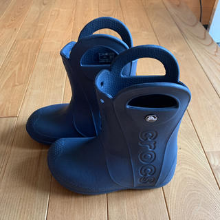 クロックス(crocs)のクロックス 長靴 18.5cm(長靴/レインシューズ)
