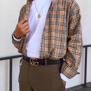 BURBERRY - BURBERRY PRORSUM チェックシャツ