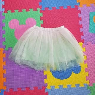 ニシマツヤ(西松屋)のチュールスカート☆80cm☆新品未使用☆タグ付き(スカート)