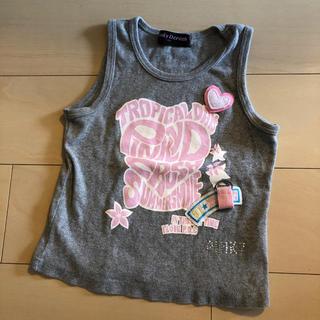 女児130タンクトップ☆used(Tシャツ/カットソー)