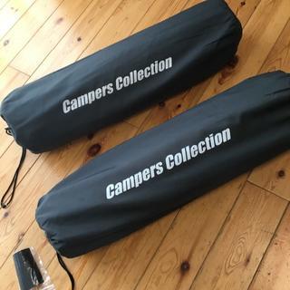キャンパーズコレクション(Campers Collection)のピロー付きインフレータブルマット5cm厚(2個セット)(寝袋/寝具)