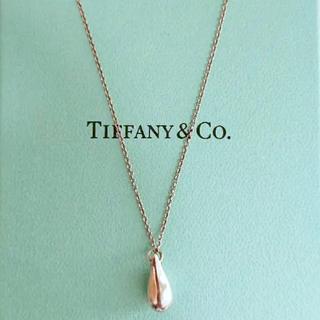 Tiffany & Co. - 【大特価‼︎美品】ティファニー ティアドロップ ネックレス