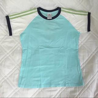 adidas - アディダス M レディース Tシャツ ブルー