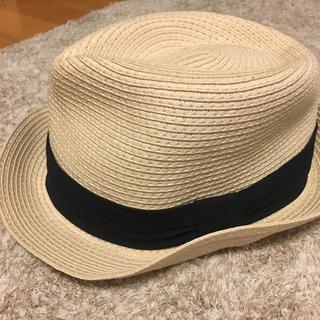 ジーユー(GU)のGU 麦わら帽子 ハット(麦わら帽子/ストローハット)