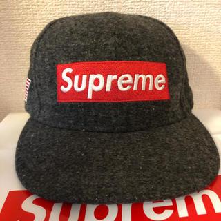 Supreme -  Supreme Box Logo New Era Cap Woolrich