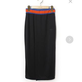 adidas - adidas ワンポイントスカート ブラック