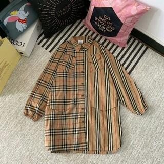 BURBERRY - お勧めburberry バーバリー Tシャツスカート ジャンパースカート S 女