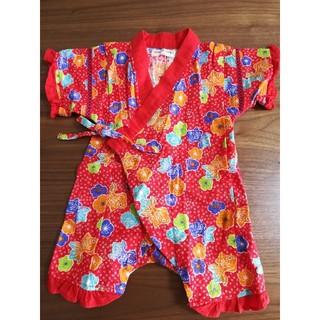 アンパサンド(ampersand)のアンパサンド 甚平 ロンパース 女の子 浴衣 AMPERSAND(甚平/浴衣)
