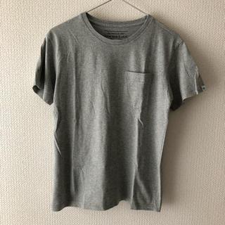 ドアーズ(DOORS / URBAN RESEARCH)のPAPERSKY×URBAN RESEARCH DOORSポケットTシャツ 灰(Tシャツ/カットソー(半袖/袖なし))