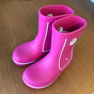 クロックス(crocs)のクロックス レインブーツ 長靴 J1 19.5㎝(長靴/レインシューズ)