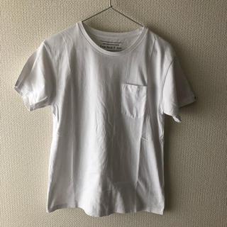 ドアーズ(DOORS / URBAN RESEARCH)のPAPER SKY×URBAN RESEARCH DOORS ポケットTシャツ白(Tシャツ/カットソー(半袖/袖なし))
