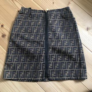 フェンディ(FENDI)の本日限定 FENDI ズッカ柄スカート 美品✩︎⡱(ミニスカート)