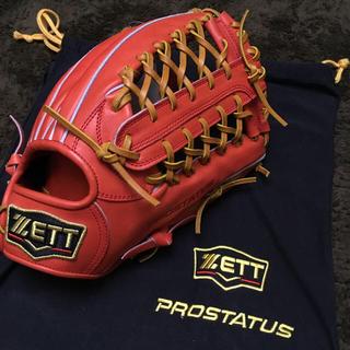 ZETT - 硬式グローブ 外野手 ZETT PROSTATUS 硬式 グローブ