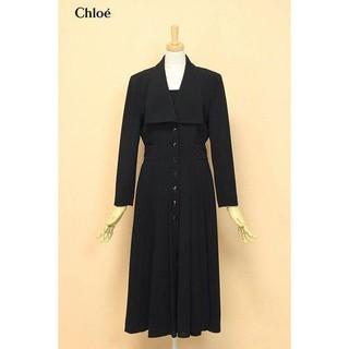 Chloe - 美品 クロエ Chloe ブラック フォーマル ドレスワンピース 礼服 喪服