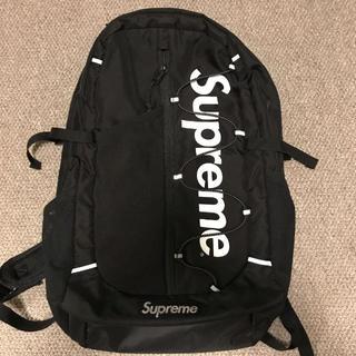Supreme - Supreme 17ss backpack バックパック 黒