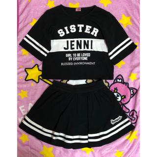 JENNI - JENNI セトア Tシャツ スカート 140