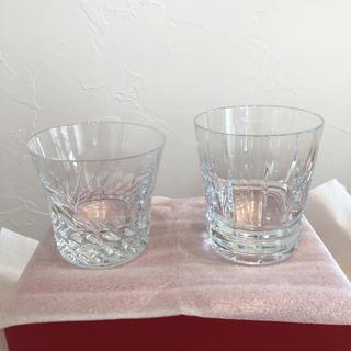 Baccarat - バカラ baccarat ロックグラス 2個 グローリア アルルカン