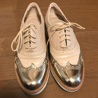 ロックポート(ROCKPORT)の【ROCKPORT】ウィングチップオックスフォードシューズ 小さめ23.5cm(ローファー/革靴)