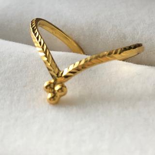 アッシュペーフランス(H.P.FRANCE)の【専用 】水金地火木土天冥海 k22 Jewelry  11号 ジャイプール(リング(指輪))