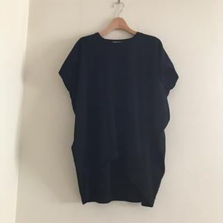 ENFOLD - エンフォルド カットソー 黒 ENFOLD Tシャツ  ①
