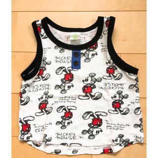 ディズニー(Disney)のミッキータンクトップ size80(タンクトップ/キャミソール)