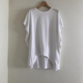 ENFOLD - エンフォルド カットソー 白 ENFOLD Tシャツ  ②