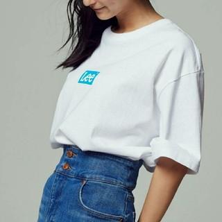 Lee - 〓新品タグ付き〓 LEE ボックスロゴTシャツ/ロゴカラー【ブルー】/M
