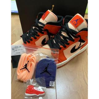 NIKE - Nikeエアジョーダン1 MID 27cm