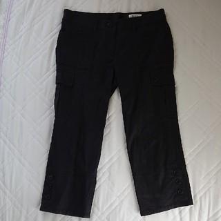 ニジュウサンク(23区)の23区  クロップドパンツ  40  black(クロップドパンツ)