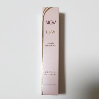 NOV - ノブ L&W リンクルアイクリーム 保湿クリーム