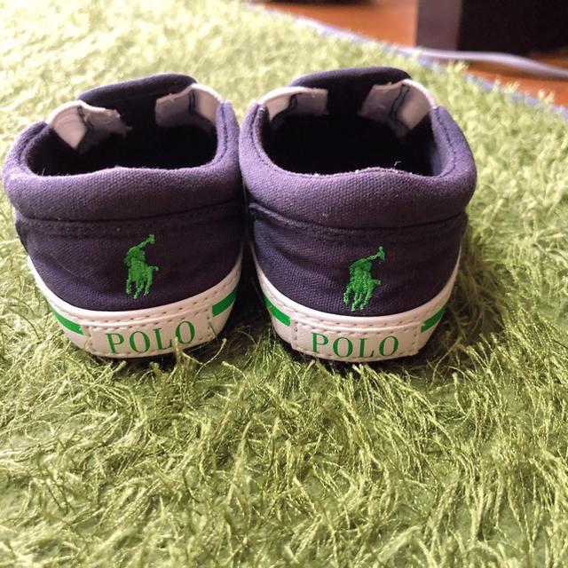 Ralph Lauren(ラルフローレン)のラルフローレンファーストシューズ キッズ/ベビー/マタニティのベビー靴/シューズ(~14cm)(スニーカー)の商品写真
