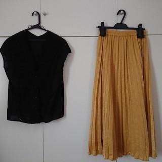 IENA - SLOVE IENA ブラウス スカート