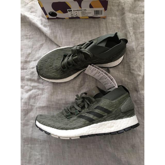 adidas(アディダス)の新品タグ箱付  adidas PUREBOOSTピュアブーストRBL22.5cm レディースの靴/シューズ(スニーカー)の商品写真