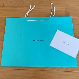 ティファニー(Tiffany & Co.)のTIFFANYショップバッグ(ショップ袋)