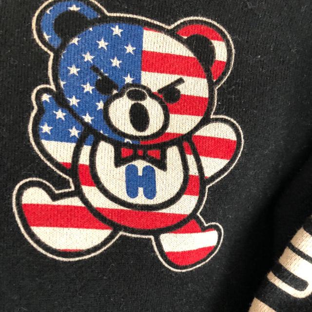 JOEY HYSTERIC(ジョーイヒステリック)のジョーイパーカー キッズ/ベビー/マタニティのキッズ服 男の子用(90cm~)(ジャケット/上着)の商品写真
