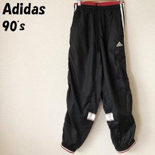 アディダス(adidas)の【90's】Adidas/アディダス サイドラインナイロンパンツ サイズ160(パンツ/スパッツ)