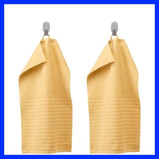 イケア(IKEA)の数量限定価格 ☆ IKEA ゲストタオル 2枚組 イエロー(タオル/バス用品)