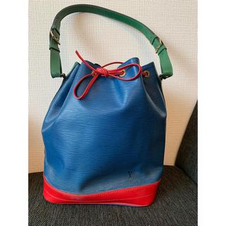 LOUIS VUITTON - 希少 美品 ルイヴィトン エピ トリコロール ノエ 巾着型 ショルダーバッグ