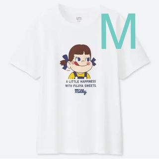 UNIQLO - UNIQLOペコちゃんコラボTシャツ Mサイズ☆新品タグ付き