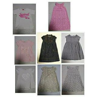 子供服 110 女の子 まとめ売り (送料無料)(ワンピース)
