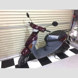 スズキ - 埼玉県深谷市 スズキ レッツ4 原付 スクーター 50cc バイク ブラウン
