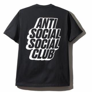 アンチ(ANTI)のアンチソーシャルソーシャルクラブ 黒色Tシャツ Sサイズ(Tシャツ/カットソー(半袖/袖なし))