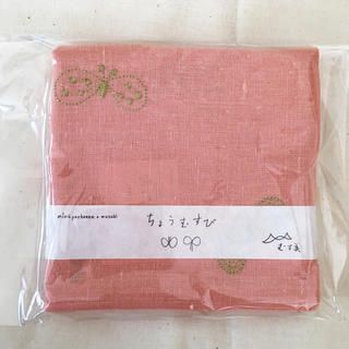 ミナペルホネン(mina perhonen)のSale ♡ 新品 ミナ ペルポネン 風呂敷 48cm リネンエンブロ(ハンカチ)