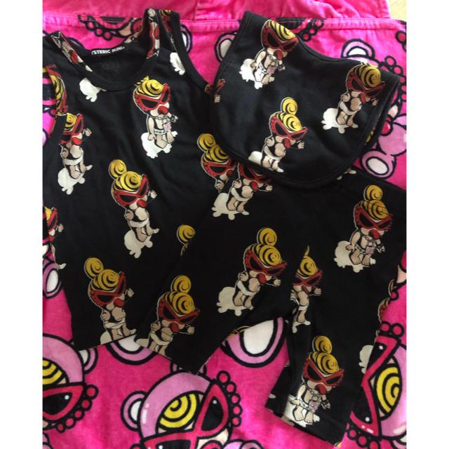 HYSTERIC MINI(ヒステリックミニ)のドール♡3点 キッズ/ベビー/マタニティのキッズ服 男の子用(90cm~)(Tシャツ/カットソー)の商品写真