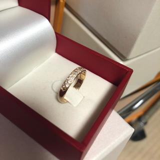 ジュエリーツツミ(JEWELRY TSUTSUMI)のk18  ダイヤパヴェ  リング(リング(指輪))