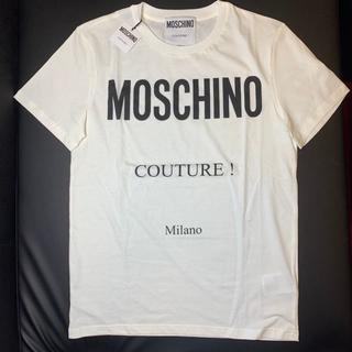 モスキーノ(MOSCHINO)のMOSCHINO モスキーノ Tシャツ SALE ホワイト(Tシャツ/カットソー(半袖/袖なし))